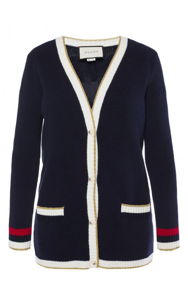 447b2267083 Embellished cardigan Gucci - Vitkac shop online