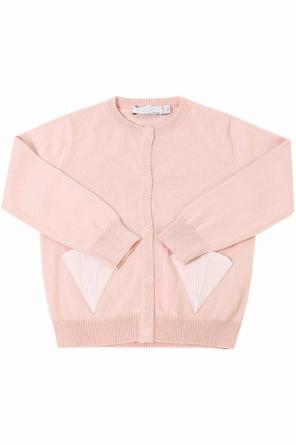 Cardigan with decorative pockets od Stella McCartney Kids