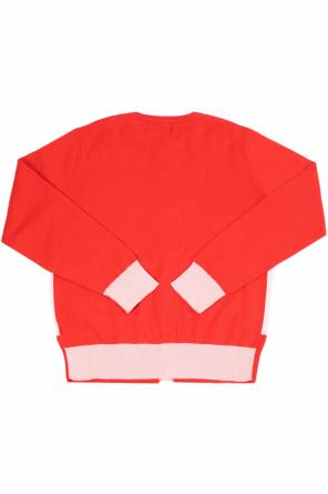 Swan motif cardigan od Stella McCartney Kids