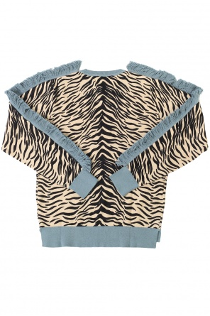 Fringe sweater od Stella McCartney Kids