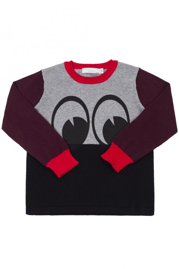 Eye-printed sweater od Stella McCartney Kids