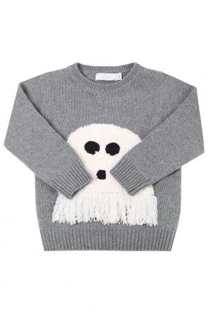 Appliqued sweater od Stella McCartney Kids