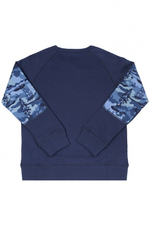 Sweatshirt with inserts od Stella McCartney Kids