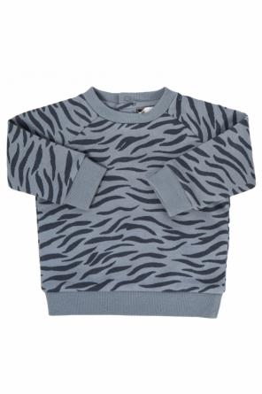 Sweatshirt with tiger stripes od Stella McCartney Kids