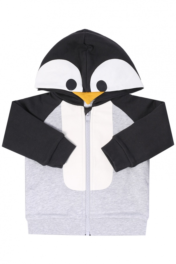 Penguin motif sweatshirt od Stella McCartney Kids