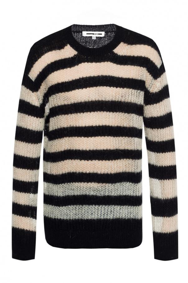 22340bd9f0 Striped braided sweater McQ Alexander McQueen - Vitkac shop online