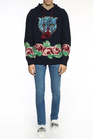 Embroidered sweater od Gucci