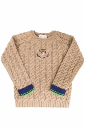 Braided sweater od Gucci Kids