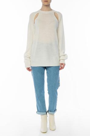Cut-out sweater od McQ Alexander McQueen
