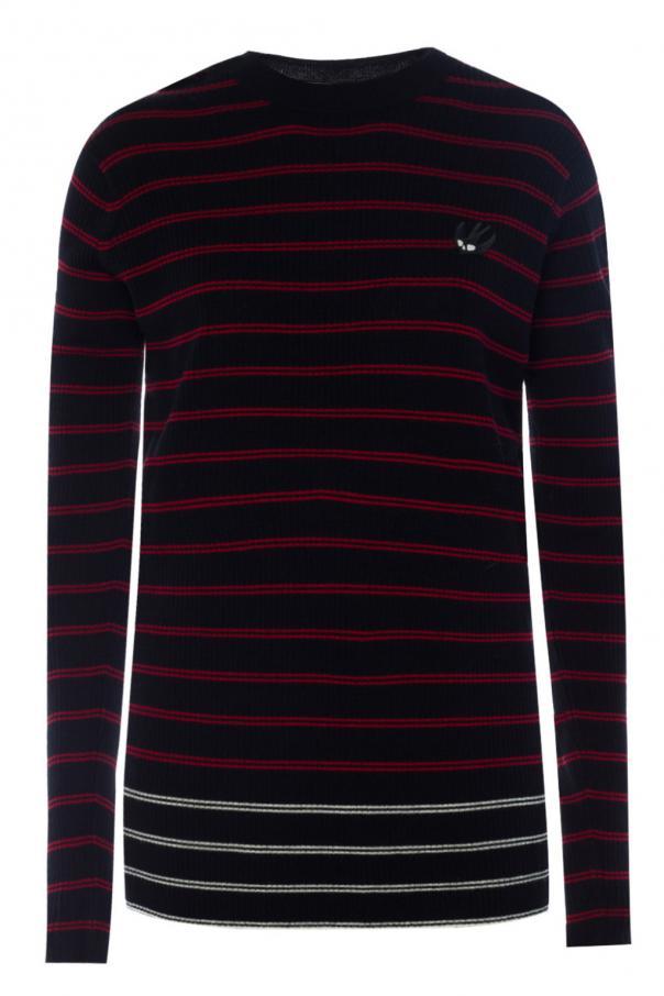 c053bd3756 Striped ribbed sweater McQ Alexander McQueen - Vitkac shop online