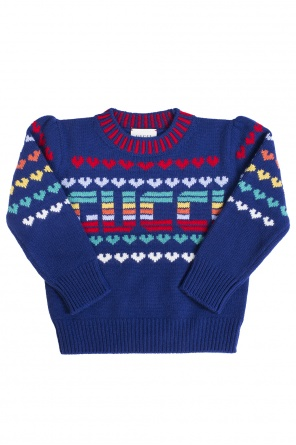 Logo sweater od Gucci Kids