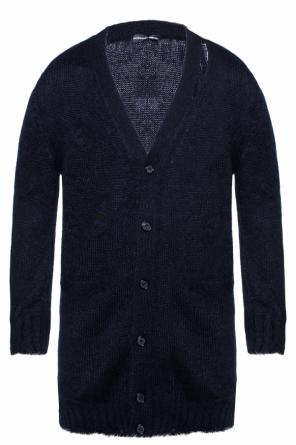 Cardigan with decorative holes od Alexander McQueen