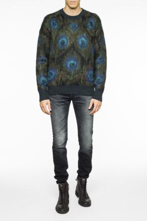 Peacock eye sweater od Alexander McQueen