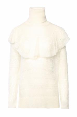 Sheer turtleneck sweater od Stella McCartney