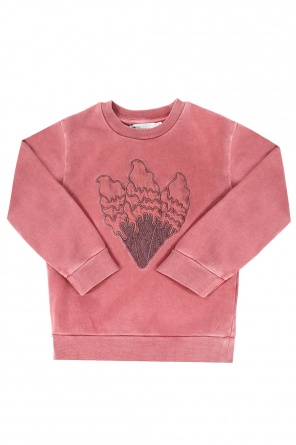 Ice cream motif sweatshirt od Stella McCartney Kids