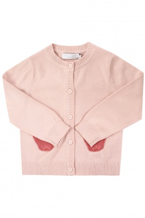 Kardigan z muszelkami od Stella McCartney Kids