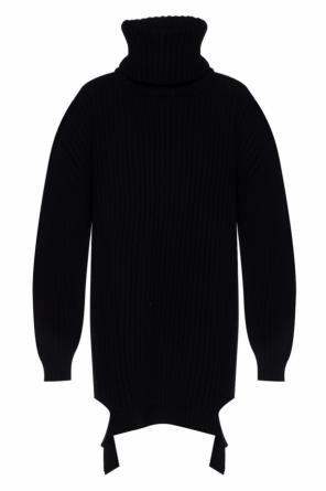 Oversize ribbed turtleneck sweater od Balenciaga