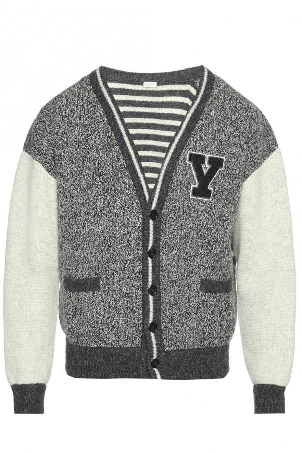 6f804edf23174 Patterned cardigan Saint Laurent - Vitkac shop online