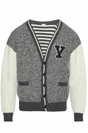 Patterned cardigan od Saint Laurent Paris