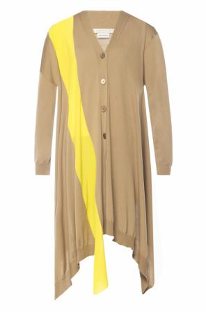 Long asymmetrical cardigan od Stella McCartney