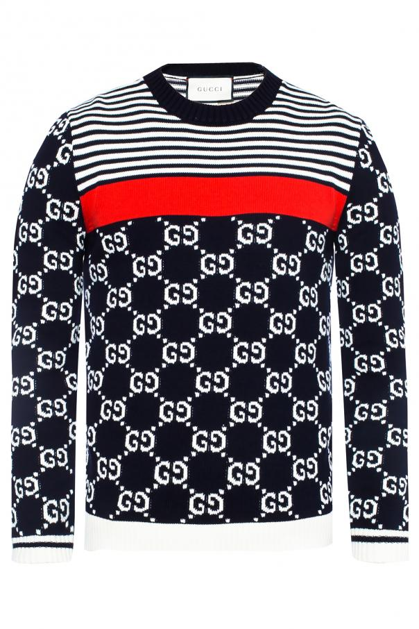c80920c7 Logo-embroidered sweater Gucci - Vitkac shop online