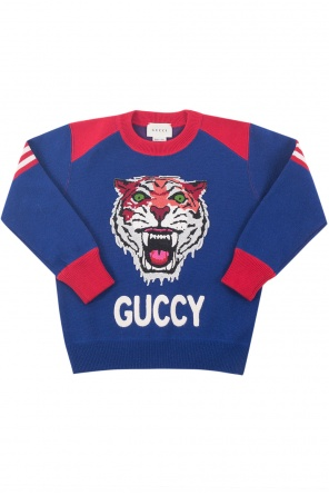 Embroidered sweater od Gucci Kids