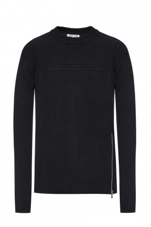 Ribbed crewneck sweater od McQ Alexander McQueen