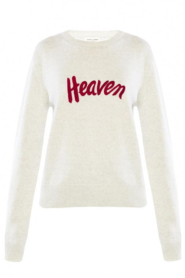 f707b8e8964c5 Stitched lettering sweater Saint Laurent - Vitkac shop online