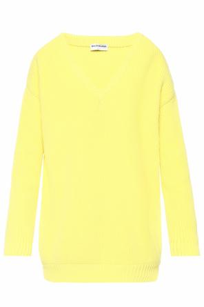 V-neck sweater od Balenciaga