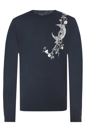 Sweater with stitching od Alexander McQueen