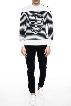 Striped sweater od Alexander McQueen