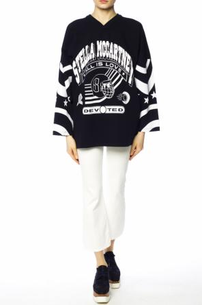 Printed oversize sweatshirt od Stella McCartney