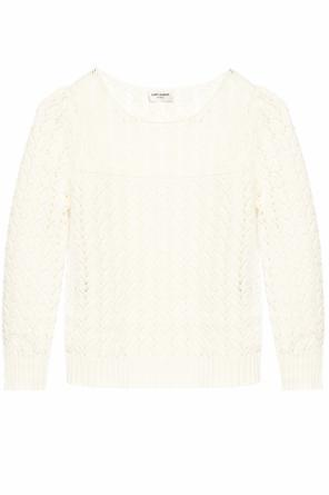 Braided sweater od Saint Laurent