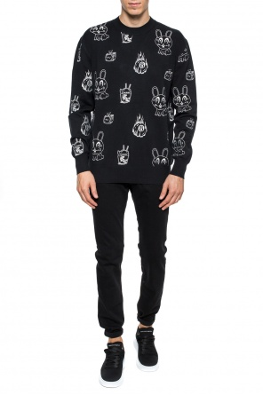 Embroidered sweater od McQ Alexander McQueen