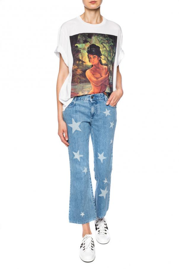 T-shirt with a print od Stella McCartney