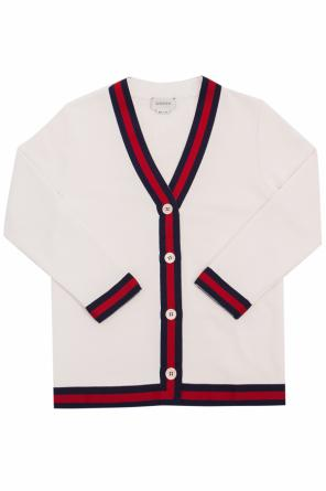 V-neck cardigan od Gucci Kids