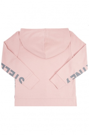 Asymmetrical hooded sweatshirt od Stella McCartney Kids