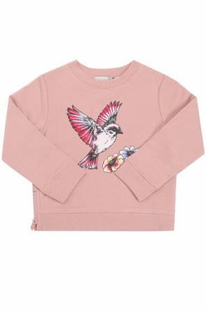 Sweatshirt with a print od Stella McCartney Kids