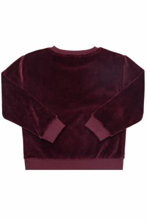 Printed velvet sweatshirt od Stella McCartney Kids