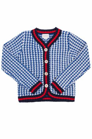Patterned cardigan od Gucci Kids