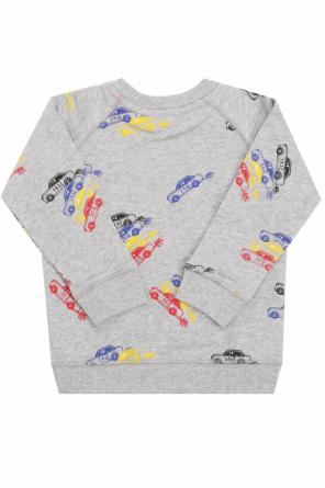Sweatshirt with a car motif od Stella McCartney Kids
