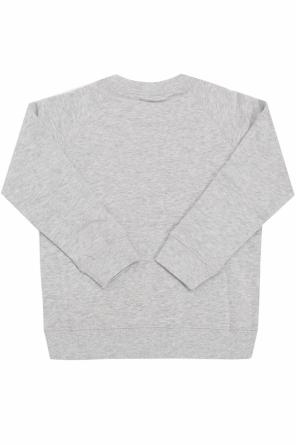 Sweatshirt with an animal motif od Stella McCartney Kids