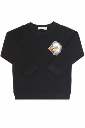 Sweatshirt with an eagle motif od Stella McCartney Kids