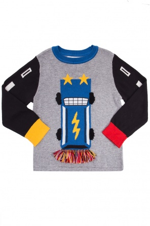 Embroidered sweater od Stella McCartney Kids