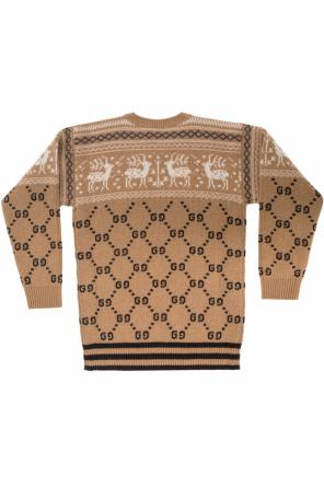 Patterned sweater od Gucci Kids