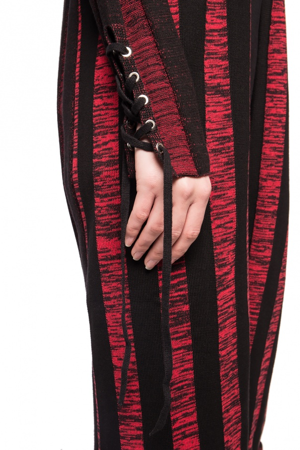 Long striped cardigan od McQ Alexander McQueen