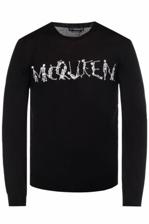 40c03927 Embroidered sweater od Alexander McQueen Embroidered sweater od Alexander  McQueen
