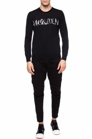 Embroidered sweater od Alexander McQueen