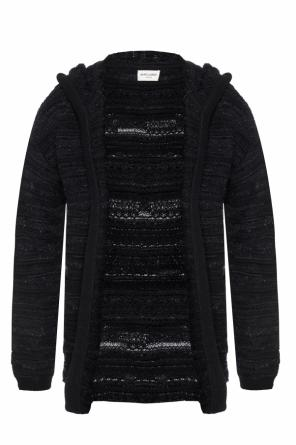 Hooded cardigan od Saint Laurent