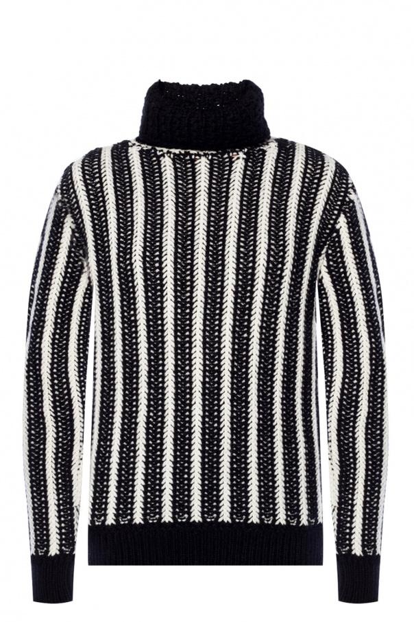 14b23a10eae35 Braided turtleneck sweater Saint Laurent - Vitkac shop online